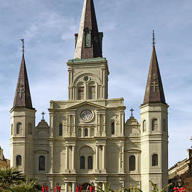 St. Louis Cathedral New Orleans by Sally Weigand