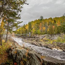 St. Louis River in Autumn by Susan Rydberg