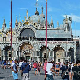 St Mark's Basilica in Venice Italy by Beautiful Things