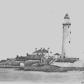 St. Mary's Lighthouse by Patricia Hiltz