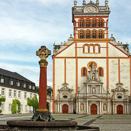 St. Matthias Abbey and Fountain by Sally Weigand