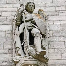 St Michael by Michaela Perryman