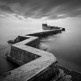 St Monans Breakwater by Dave Bowman