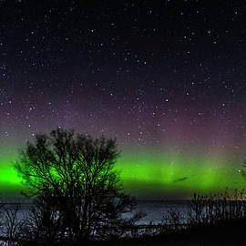 St. Patricks Day Aurora at 43 Latitude by Kathryn by Photography By Phos3 Kathryn Parent and Dave Paddick