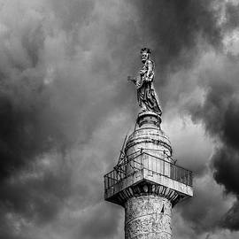 St. Peter On A Pole by Mike Schaffner