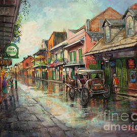 St. Peter's and Patty'O - Pat O'Brien's New Orleans Hurricanes by Dianne Parks