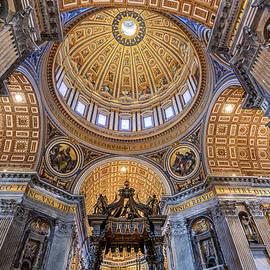 St. Peter's Basilica, Vatican City by Stefano Politi Markovina