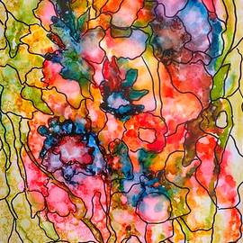 Stained Glass Abstract by Anne Sands