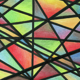 Stained Glass Fracture by Mary Walchuk