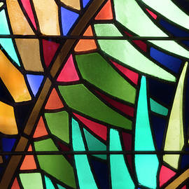 Stained Glass Fronds by Debra and Dave Vanderlaan