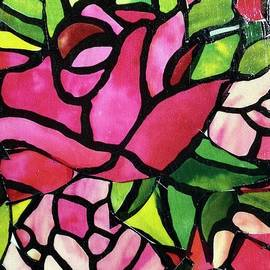 Stained Glass Rose by Janette Boyd