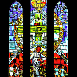 Stained Glass Window #1 by David Berg