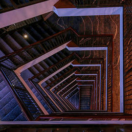 Stairs 1 - Up or Down by Judy Vincent
