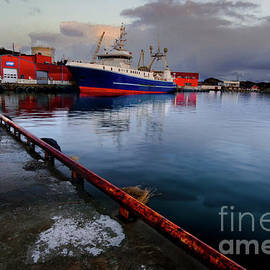 Stamsund Fishing Fleet by Norma Brandsberg