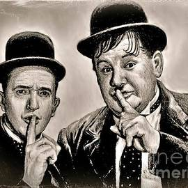 Stan and Ollie Comedy greats by Andrew Read