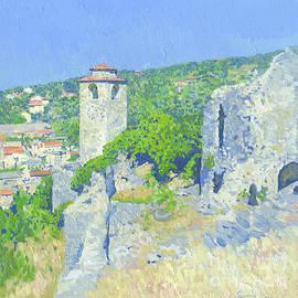 Stari Bar. Clock Tower. Montenegro by Simon Kozhin