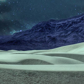 Starlight Over White Sands by JC Findley