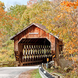 State Road Covered Bridge by Susan Hope Finley