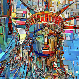 Statue of Liberty 1a by Stefano Menicagli