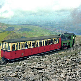 Steaming to the Top, Mount Snowdon by Brian Shaw