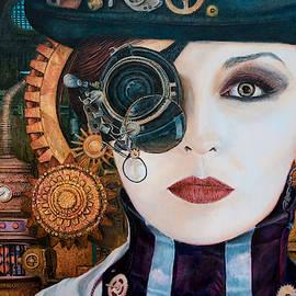 Steampunk Woman by Olaf Plantener