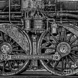 Steel Train Wheels by Alana Ranney