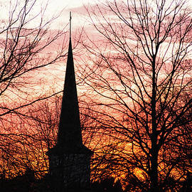 Steeple Silhouette by Mary Ann Artz