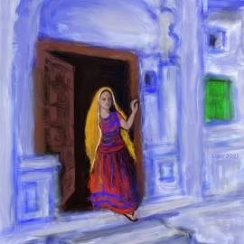 Stepping out by Uma Krishnamoorthy