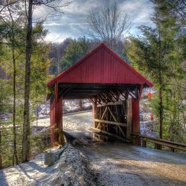 Sterling Covered Bridge - Stowe Vermont by Joann Vitali