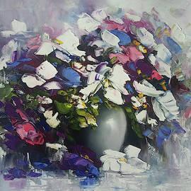 Still life flowers by Mareta Martirosyan