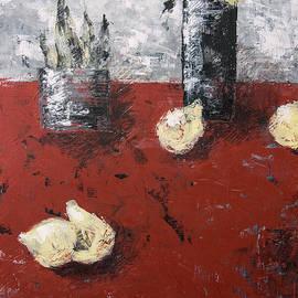 Still life in the style of Suprematism by Irina Bocharova