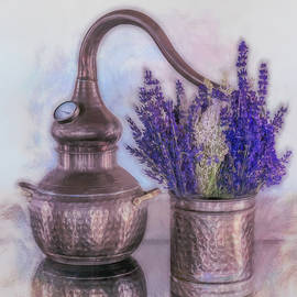 Still Life moment with Lavender by Sylvia Goldkranz