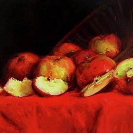 Still Life With Apples by David Beglaryan