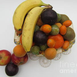 Still Life With Fruit by Lesley Evered