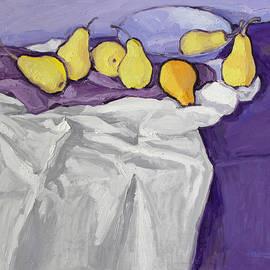 Still Life with Pears  by Ivan Kolisnyk