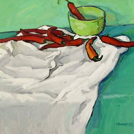 Still Life with Pepper by Ivan Kolisnyk
