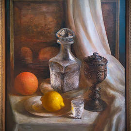 Still Life With Silver Cup2 by Felix Freudzon