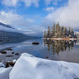 Stillness on Lake Wenatchee by Lynn Hopwood
