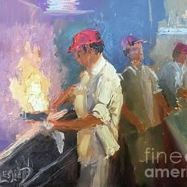 Stir Fry by Leslie Dobbins