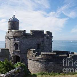 St.Mawes Castle, Cornwall, UK by Lesley Evered