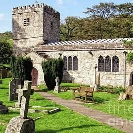 St.Michael and All Saints church, Hubberholme. by David Birchall