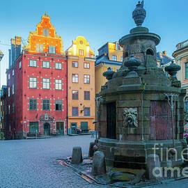 Stockholm Stortorget by Inge Johnsson