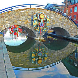 Stone Arch Bridge Reflections by Emmy Marie Vickers