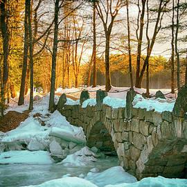 Stone Bridge - Hillsborough New Hampshire by Joann Vitali