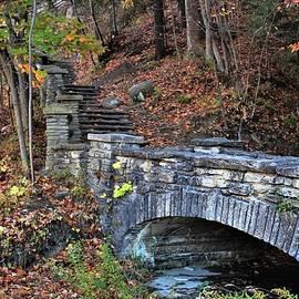 Stone Bridge on the Trail by Carol McGrath