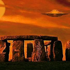 Stonehenge  Sunset by Hartmut Jager