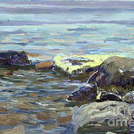 Stones by the sea by Simon Kozhin