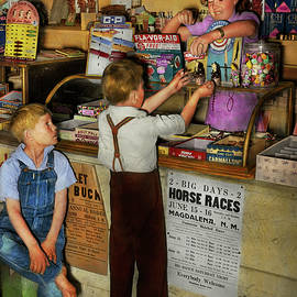 Store - Candy for both of us 1940 by Mike Savad