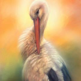 Stork by Marjolein Kruijt