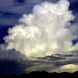Storm Cloud At Sunset by Douglas Taylor